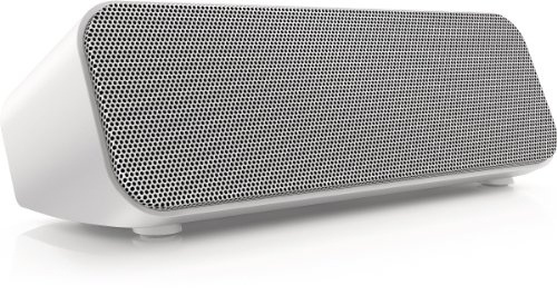 Philips SBT300WHI/37 Bluetooth Wireless Portable Speaker (White)