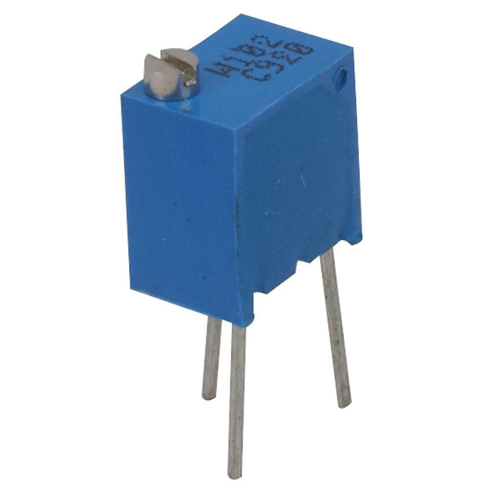 12-Turn 8.26 mm H x 6.71 mm L x 4.5 mm W Jameco Valuepro 3266W-1-104LF-VP Potentiometer Pack of 4 3266W-104Lf 100K Ohm 1//4 Square 0.25W 1//4 Square