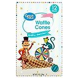 Great Value Ice Cream Waffle Cones, 12 Cones, 7 oz