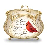 James Hautman A Messenger From Heaven Cardinal Music Box with 22K Gold Accents by The Bradford Exchange