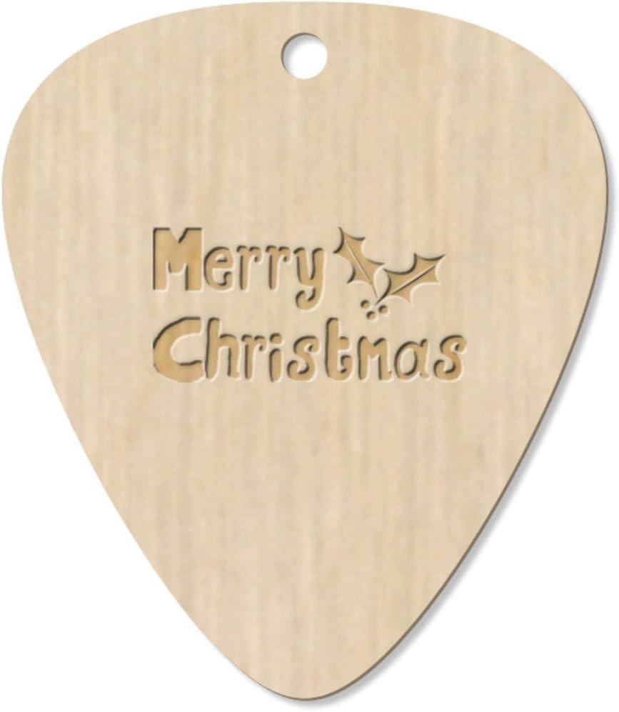 Azeeda 7 x Feliz Navidad Guitarra Púa (GP00006369): Amazon.es ...