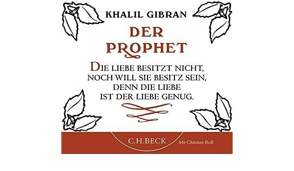 Der prophet gibran liebe
