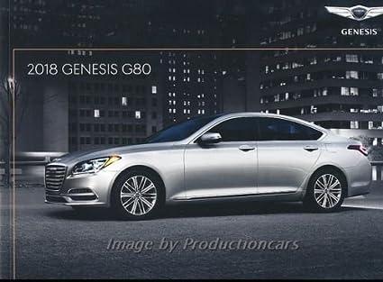 Amazon Com 2018 Hyundai Genesis G80 26 Page Original Car Sales