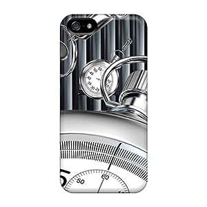 Iphone 5/5s Case Bumper Tpu Skin Cover For Clock Accessories