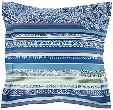 Bassetti Ravello Funda de cojín, algodón, Azul, 40 x 40: Amazon.es ...