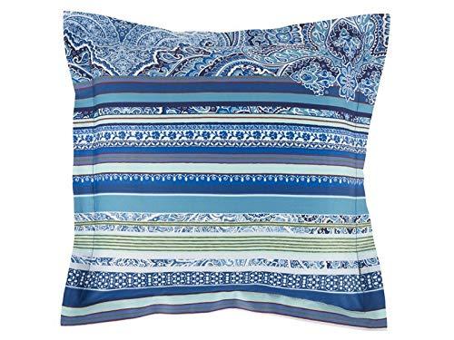Bassetti - Cojín Decorativo, diseño de Rayas, Color Azul ...