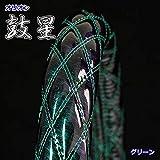 極太ハンドルカバー 鼓星 (オリオン) エナメルレザー グリーン S (36~37cm) MY2-OR99-S