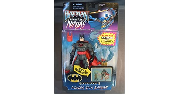 Batman: Knight Force Ninjas Power Kick Batman Action Figure ...