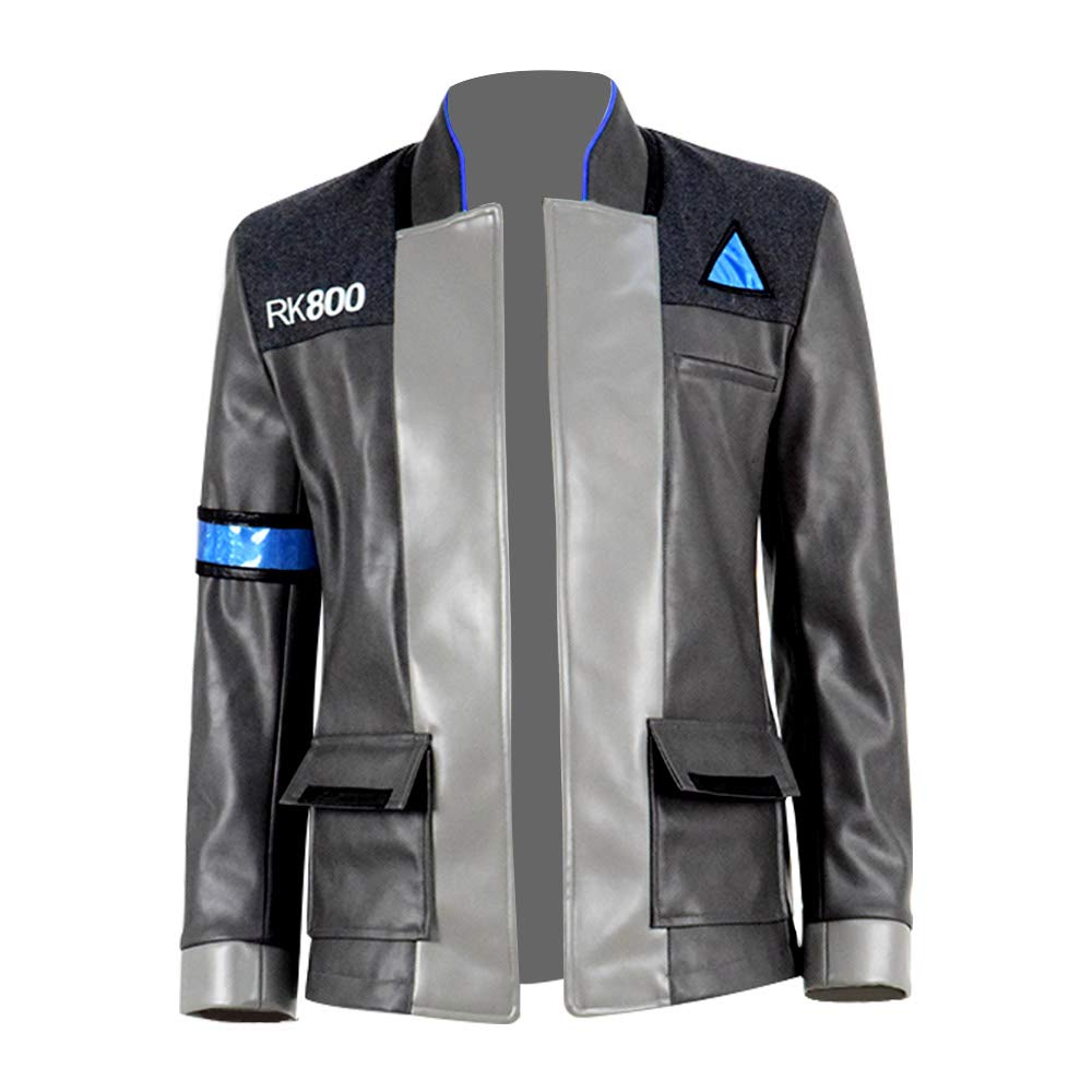 VOSTE Become Human Hoodie 3D Printed Hooded Pullover Sweatshirt Jacket Cap (Custom-made, Only Jacket 2)