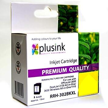 Cartucho Compatible con HP n.302 X L Negro para impresoras ...