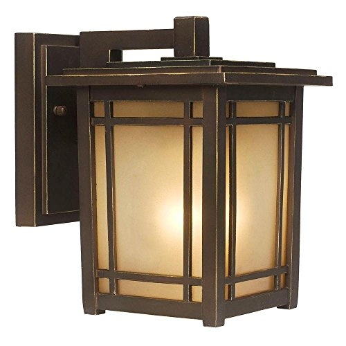 Home Decorators Collection Port Oxford 1-light Outdoor Oil Rubbed Chestnut Wall Lantern