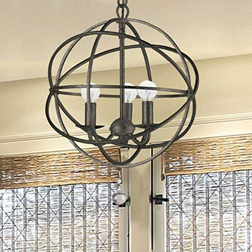 - Crystorama 9225-EB Traditional Three Light Mini Chandeliers from Solaris collection in Bronze/Darkfinish,
