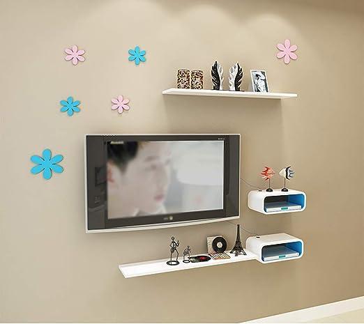 DERTL - Mueble pequeño para televisor Flotante, para almacenar ...