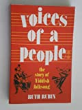 Voices of a People : The Story of Yiddish Folksong, Rubin, Ruth, 0827601212