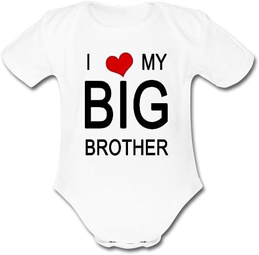 Unisex Baby Best Little Brother Ever Bodysuit So Relative