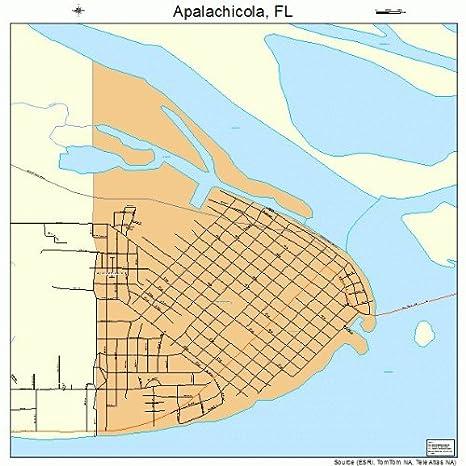 Amazon.com: Large Street & Road Map of Apalachicola, Florida ... on map of port saint joe florida, map of punta rassa florida, map of indian creek florida, map of greenville florida, map of big coppitt key florida, map of ochlockonee river florida, map of st. lucie county florida, full large map of florida, map of cedar key florida, map of chokoloskee florida, map of st. cloud florida, map of south carolina florida, map of st teresa florida, map of texas florida, map of florida panhandle, map of micco florida, map of hypoluxo florida, map of ponce de leon florida, map of alys beach florida, map of sopchoppy florida,