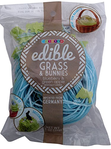 Edible Grass (Edible Easter Grass & Bunnies 1 oz (Blueberry))