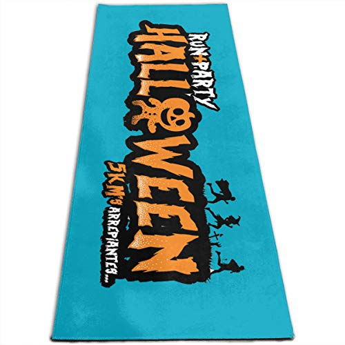 GONGHE Halloween Journey Gymnastics Mat Yoga Mat Exercise Mat One Size