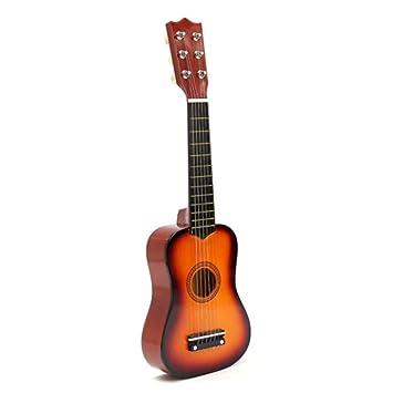 LaDicha 21 Principiantes Guitarra Acústica De Basswood 6 ...