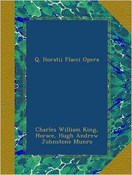 Descargar La Libreria Torrent Q. Horatii Flacci Opera Archivo PDF A PDF
