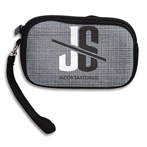 Amurder Jacob Sartorius Logo Fashion Money Wallet Pouch Bag Black