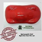 High Gloss Clear Coat -16oz Aerosol - Hydro Film Dip Paint - Hydrographics Film - Hydro Dip Film - Hydrographic Film - Water Transfer Printing - Hydro Dipping