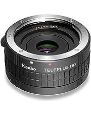 Kenko Teleplus HD DGX convertidor de 2Compartimento para Nikon AF Negro