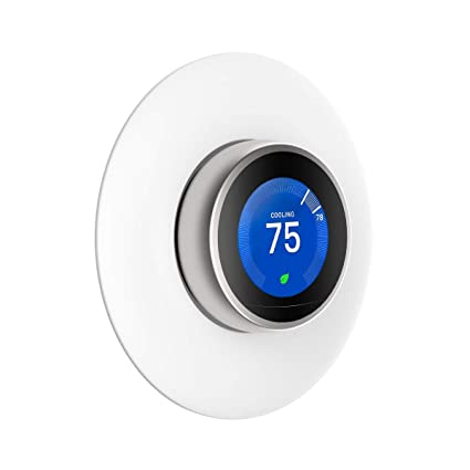 Wall Plate Cover for Nest Learning Thermostat 1st,2nd and 3rd Generation(Not Compatible