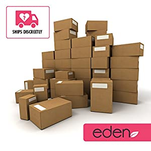 "Eden 9"" Realistic Feel Vibrating Waterproof Multispeed Vibrating Dildo [AA Batteries] (Purple #1)"
