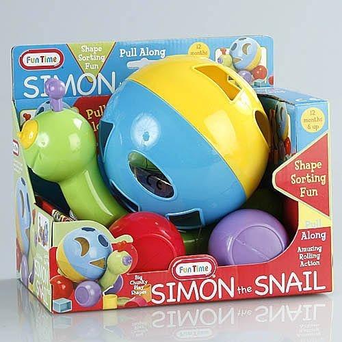 (Fun Time Simon the Snail Shaper)