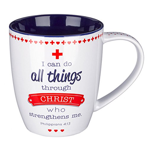 Blessings Nurses Inspirational Mug Philippians product image