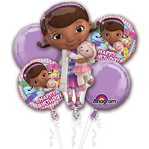 Doc McStuffins Birthday Bouquet of Balloons