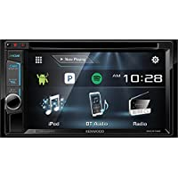Kenwood DDX374BT 2-DIN Bluetooth In-Dash CD/DVD/DM Receiver with 6.2' Touchscreen