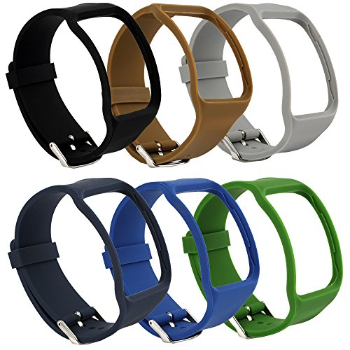 Sunmitech Replacement Bands for Samsung Galaxy Gear S SM-R750 Smart Watch, Soft TPU, Classic Watch Band Style with Metal Buckle by Sunmitech