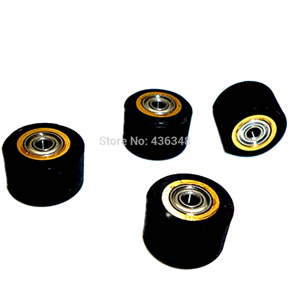 FINCOS 1/2/3/4/5/6/10pcs 3mmx11mmx16mm Pinch Roller Wheel for Roland Vinyl Plotter Cutter Extra Long Life Wheel Bearing Paper - (Color: 10pcs) by FINCOS (Image #6)