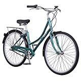 Pure City Classic Step-Through 3-Speed Bicycle, 45cm/Medium, Pearl Dark Green/White For Sale