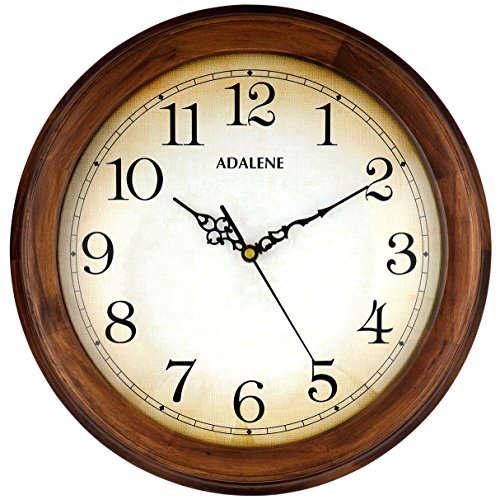 Adalene Clocks Decorative Living Wooden product image