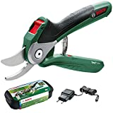 Bosch 06008B2070 Cordless Secateurs EasyPrune (Integrated 3.6 V, 450 Cuts/Battery Charge in Blister...
