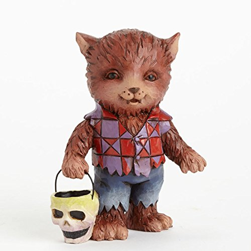 Jim Shore for Enesco Heartwood Creek Mini Werewolf Figurine, 3.5-Inch