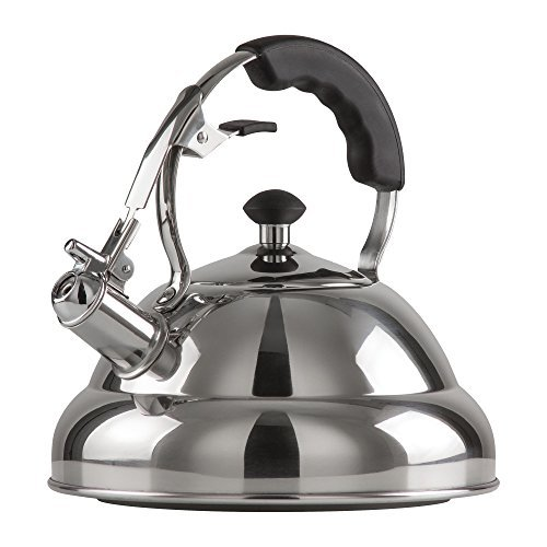 Chef's Secret 2.75-Quart T-304 Stainless-Steel Tea Kettle, a Powerfully Conductive Boiling Vessel with a Copper Center Capsule Bottom by Chef's Secret