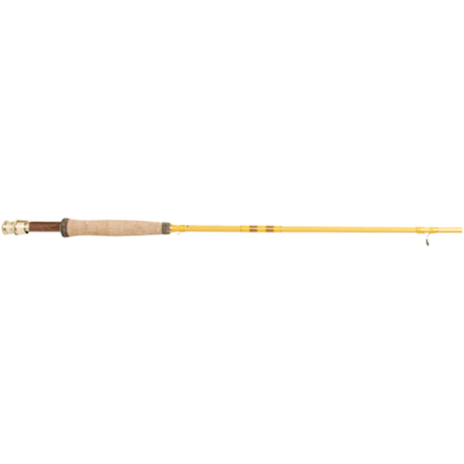 Eagle Claw, Featherlight Fly Rod, Freshwater, 8 Length 2pc, 5-6 lb Line Rate. Medium Power