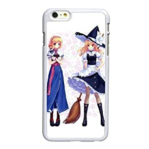 HD exquisite image for iPhone 6 plus 5.5 inch Cell Phone Case White marisa kirisame and alice margatroid AMI6480831