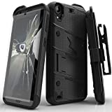 HTC Desire 530 Case, Zizo [Heavy Duty Case] w/ FREE [HTC Desire 530 Screen Protector] Kickstand [Military Grade Drop Tested] Holster Clip -Desire 530