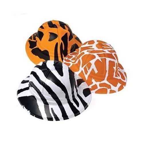 Animal Print Safari Hats (1 Dozen) -