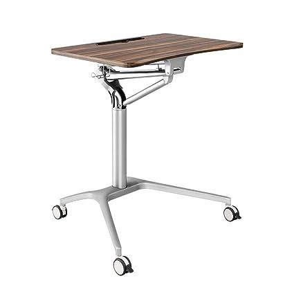 Altezza Tavolo Lavoro.Scrivanie Dd Mobile Per Laptop Tavolo Sit Stand Postazione