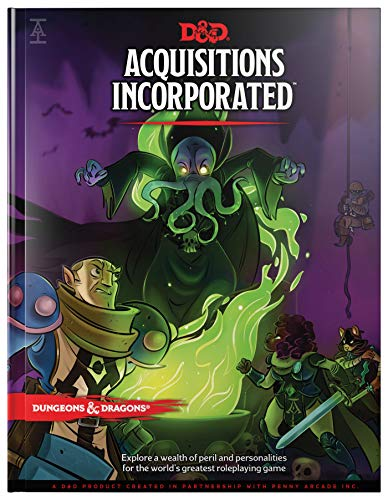 Dungeons & Dragons Acquisitions Incorporated HC (D&D Campaign Accessory Hardcover Book) from Wizards of the Coast