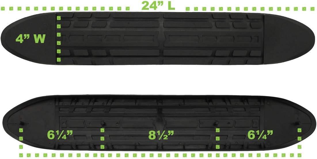 Raptor Series Replacement Step Pad 4 Oval Side Steps Nerf Bars No Raptor Logo