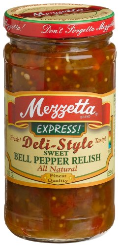 Mezzetta B76766 Mezzetta Sweet Bell Pepper Relish -6x12oz