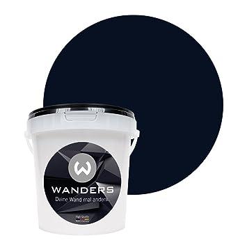 Wanders24 Tafelfarbe 1liter Schwarz Matte Wandfarbe In 20