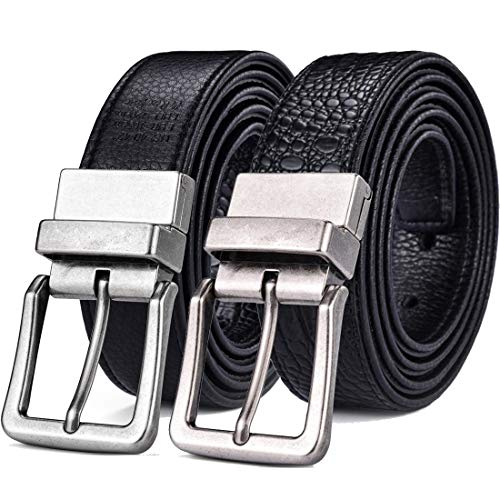 Beltox Men's Belts Reversible Leather 1.25